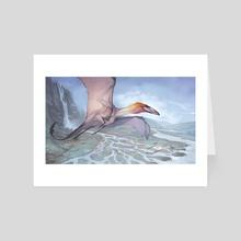 Shaledrake - Art Card by Sam Santala