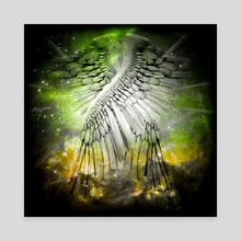 Angel's Wings - Canvas by Bruce Rolff