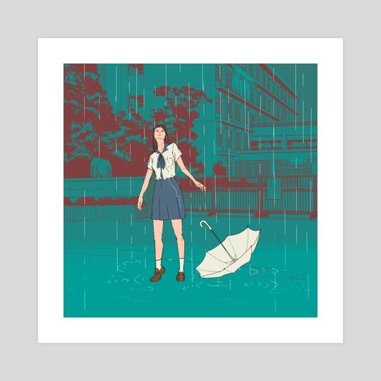 Pluviophile by Alliah Gregorio
