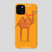 Kamel - Phone Case by Ahmed Riaz