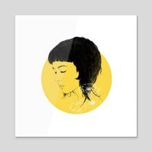 Elpis - Acrylic by Rachael Ibanez