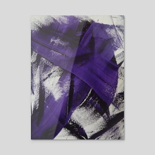 Violet - Acrylic by William Birdwell