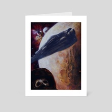 Beyond The Horizon - Art Card by Dan Henk