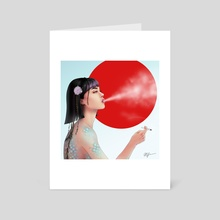 Air Breather v2 - Art Card by Mimi Freer