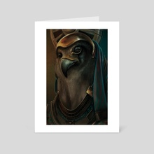 Horus - Art Card by Yann Delahaie