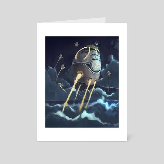 Rabbot Spaceship by Murdok X