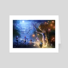 Moonlight Adventure - Art Card by Jon Hrubesch