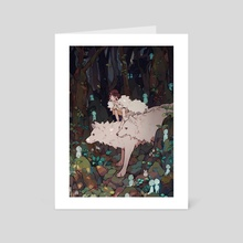 Princess Mononoke - Art Card by Yueko