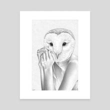 Bird (2) - Canvas by Renzo Razzetto