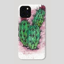 Cactus 1 - Phone Case by Christien Gilman
