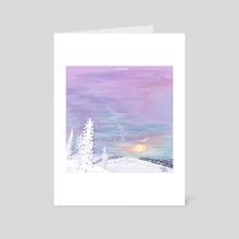 Rainbow colors - Art Card by Aurealis Creatief