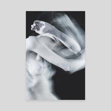 Under my skin - Canvas by Kseniya Lokotko