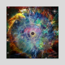 The Eye of Time - Canvas by Bruce Rolff