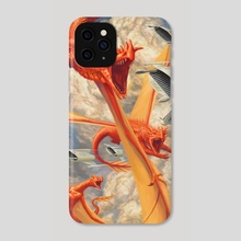 Out of Nowhere - Phone Case by Dean Vigyikan