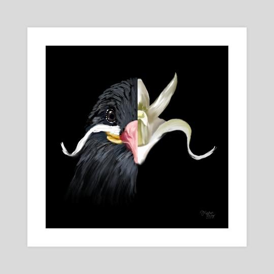 Inca Tern + Ghost Orchid by Meghan Keeley
