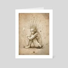melancholia - Art Card by Matthias Derenbach