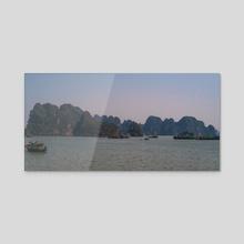 Looming islands - Acrylic by Adam Dore