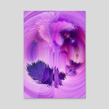 Abstract Glitch Art 25 - Acrylic by 1X NewArt