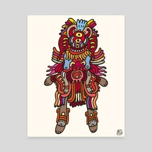 Olmeca Monster of the day (June 29) [Year 1] - Canvas by Royal Glamsters
