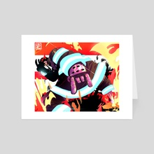 DEVIL*HERO - Art Card by Taku Waku