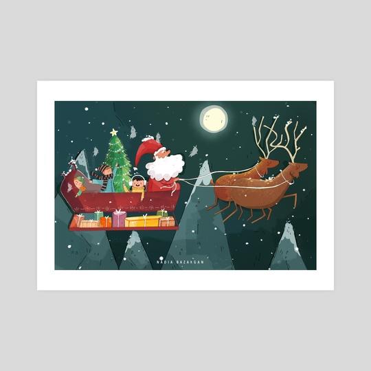 Christmas Trip !  by Nadia Bazargan