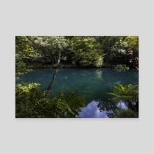 Magic forest (l) - Canvas by Oscar Manuel Calleja Hermosa