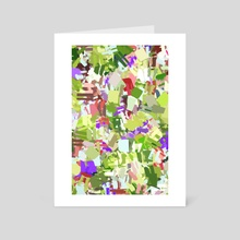 Green Freshness - Art Card by 83 Oranges