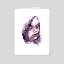 sleepless - Art Card by Molly Brill