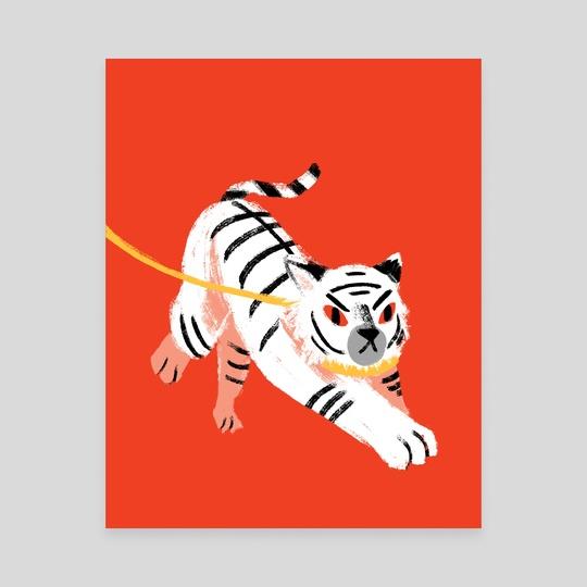 White Tiger by Sarah Lee