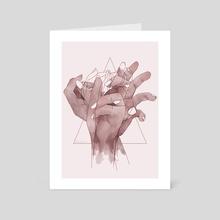 Reach - Art Card by Ennun Ana Iurov
