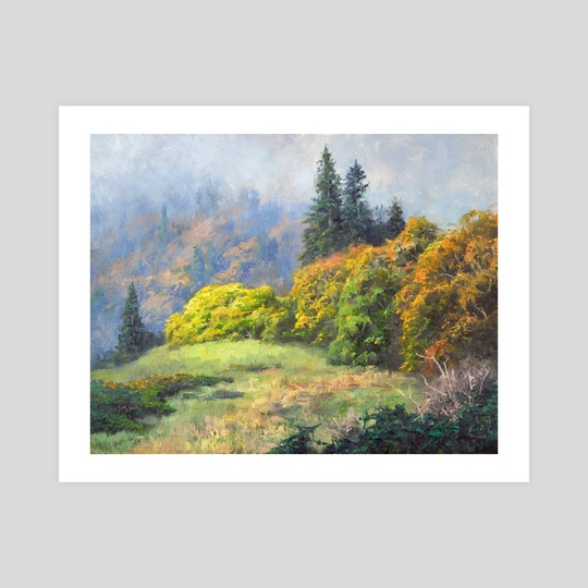 Mist Between the Hills by Jordan K Walker