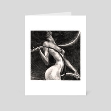 ring - Art Card by Anastasia Nastiviya