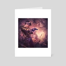 Dragons of Dorcastle - Art Card by Dominick Saponaro
