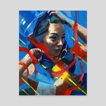 Seeking Equilibrium - Canvas by Kwanchai Moriya