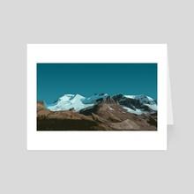 Mountains 2 - Art Card by g-g Alex Alex