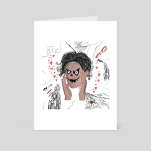 Gosh - Art Card by damage label