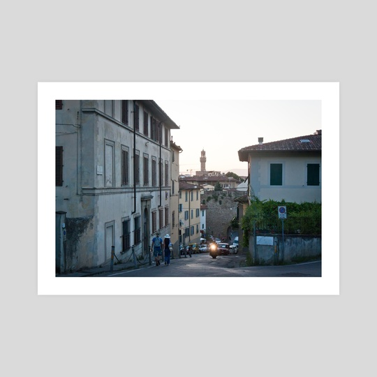 Palazzo Vecchio, Florence by Tomas Albergo