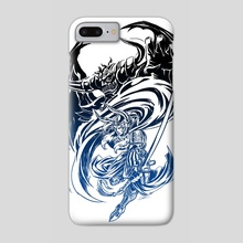 Final Fantasy - Light VS Chaos - Phone Case by Dzoan Ho