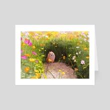 Wildflower - Art Card by Samrath Kaur