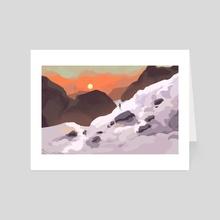 Journey - Art Card by Jessi Gulish