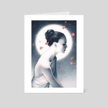 Luna - Art Card by Anna Dittmann