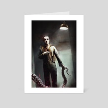 LOVECRAFT - Art Card by Bastien Lecouffe Deharme