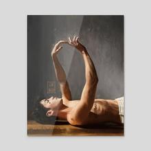 NEVERMIND - Acrylic by Halah N