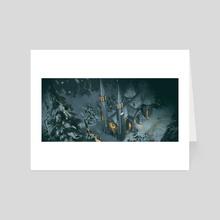 Silent Dusk - Art Card by Leah McKay