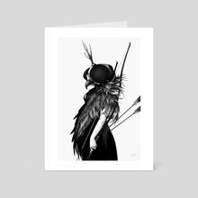 Falconry - Art Card by Joaquín Rodríguez