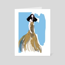 Fashion Illustration 3 - Art Card by Mei Xu
