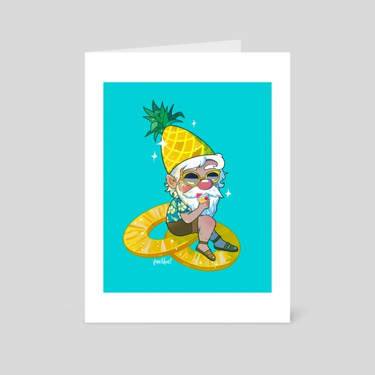Pineapple Gnome by Aly Jones