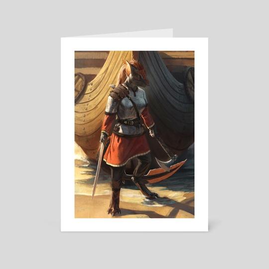 Shieldmaiden by Nomax