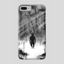 I Speak for the Trees - Phone Case by Ra Lu