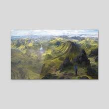 Far sight - Acrylic by Jesper Friis